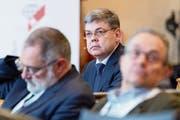 Der Luzerner SVP-Nationalrat Franz Grüter hält das Sicherheitsrisiko beim E-Voting für zu gross. (Bild: Lukas Lehmann/Keystone)