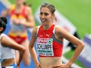 Fabienne Schlumpf hatte nach dem Vorlauf allen Grund zur Freude (Bild: KEYSTONE/WALTER BIERI)