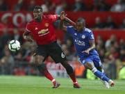 Weltmeister Paul Pogba führt Manchester United zum Startsieg über Leicester City (Bild: KEYSTONE/AP/JON SUPER)