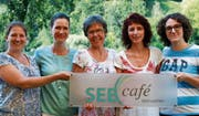 Der Vorstand des neuen Vereins: Marsha Neyer, Janet Nigg, Brigitt Meier, Claudia Götschi und Fanny Cavalon (von links). (Bild: PD)