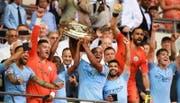 Manchester City geht als Titelverteidiger und Favorit in die Saison. (Bild: EPA)