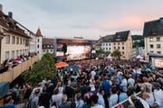 Adel Tawil, Wincent Weiss, Joris oder James Blunt stehen am Wochenende in Schaffhausen auf der Bühne. (Bild: starsintown.ch)