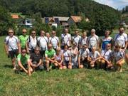 Die Teilnehmer an der Zweitagestour des VMC Schattdorf. (Bild PD, 5. August 2018)