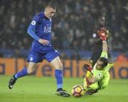 Jamie Vardy gehört zu den treffsichersten Stürmer der Premier League. (Bild: AP)