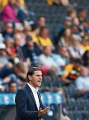 Auch im Stade de Suisse erfolgreich: YB-Trainer Gerardo Seoane. (Bild: Thomas Hodel/Keystone (Bern, 22. Juli 2018))