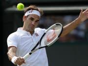 Roger Federer kehrt nach seinem Viertelfinal-Out in Wimbledon in Cincinnati auf die ATP Tour zurück (Bild: KEYSTONE/AP/BEN CURTIS)