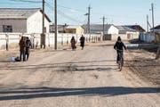 Die Schweiz soll das Geld mit Bedacht an Usbekistan zurückzahlen, fordern Menschenrechtsaktivisten. Im Bild Moynaq, eine ehemalige Hafenstadt im Westen Usbekistans, die vor dem Rückgang des Aralsees von der Fischerei lebte. ((Bild: Taylor Weidman/Bloomberg (14. März 2018))