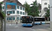 An Spitzenzeiten ist der Bus nach Buchs gut ausgelastet, dann kommen auf dieser Linie Gelenkbusse zum Einsatz. (Bild: Bilder: Kurt Latzer)