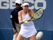 Belinda Bencic scheiterte in Cincinnati in der Qualifikation (Bild: KEYSTONE/FR67404 AP/NICK WASS)