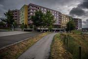 Das Betagtenzentrum Staffelnhof. Fotografiert 08. Juni 2018 in Luzern. Boris Bürgisser / freier FotografAltersheim