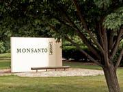 In den USA ist die Firma Monsanto zu einer Schadensersatzzahlung in Millionenhöhe verurteilt worden. (Bild: KEYSTONE/AP/JAMES A. FINLEY)