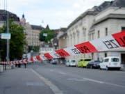 In Basel ist am Freitag ein Mann im Pharmaziemuseum ums Leben gekommen. (Archivbild Basel) (Bild: KEYSTONE/GEORGIOS KEFALAS)