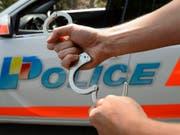 Polizist in Genf angegriffen und schwer verletzt: Der mutmassliche Täter wurde verhaftet. (Bild: Keystone/MARTIAL TREZZINI)