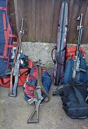 Sturmgewehre werden nicht nur in der Armee, sondern auch im Breitensport verwendet. (Bild: Martin Rütschi/KEY)