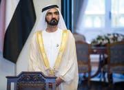 Mohammed bin Rashid al-Maktoum,ist Herrscher des Emirats Dubai und Premierminister, Verteidigungsminister sowie Vizepräsident der Vereinigten Arabischen Emirate. Bild: imago (Warschau, 8. Juni 2015)
