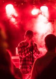 Trap-Hip-Hop aus Zürich: Akira & P. Vlex. (Bild: Reto Martin)