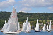 Die Salami-Regatta des Segelclubs Steckborn. (Bild: Margrith Pfister-Kübler)