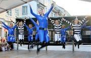 Die Youngsters von den Rocket-Girls bei ihrer Tanzshow. (Bild: Dieter Ritter)