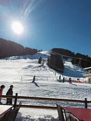 Der Skilift Eggwald-Gummen. (Bild: PD)