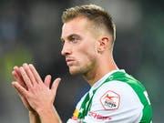Marco Aratore verlässt den FC St. Gallen nach vier Jahren in Richtung Russland (Bild: KEYSTONE/GIAN EHRENZELLER)