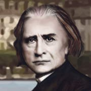 Franz Liszt.Illustration: Janina Noser