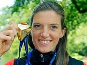 Sorgte mit Gold für den absoluten Glanzpunkt aus Schweizer Sicht: Hürden-Europameisterin Lea Sprunger (Bild: KEYSTONE/WALTER BIERI)