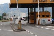 Werden sich Österreich und die Schweiz einig, könnten Schweizer Grenzwächter ab 2020 in Mäder Dienst tun. (Bild. Gert Bruderer)