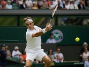 Roger Federer spielt in Cincinnati seinen ersten Match seit Wimbledon (Bild: KEYSTONE/AP/TIM IRELAND)