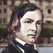 Robert Schumann.Illustration: Janina Noser