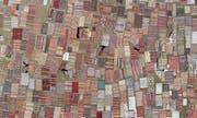 Ein türkischer Teppichmarkt. (Bild: Erdem Sahin/EPA (Antalya, 10. August 2018))
