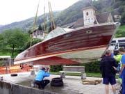 Das Luxus-Rennboot wird aus 208 Metern Tiefe geborgen. (Archivbild: PD)