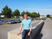 Tobias Mattes ist der neue Schulleiter des Matt-Schulhauses in Wil. (Bilder: Angelina Donati)