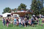 Das Karussell wurde von den Gästen rege genutzt. (Bild: PD)