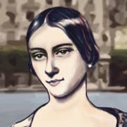 Clara Schumann.Illustration: Janina Noser