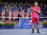 Stan Wawrinka gewann an den US Open 2016 seinen dritten und bisher letzten Grand-Slam-Titel (Bild: KEYSTONE/AP/JULIO CORTEZ)