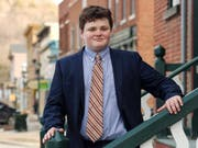 Der 14-jährige Ethan Sonneborn will in den USA Gouverneur werden und nutzt ein Schlupfloch in der Verfassung des Gliedstaates Vermont aus. (Bild: KEYSTONE/AP Ethan 2018 Campaign/BUZZ KUHNS)