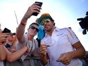 Mit Fernando Alonso wird ein populärer Fahrer die Formel 1 verlassen. (Bild: KEYSTONE/EPA MTI/ZSOLT CZEGLEDI)
