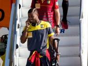 Alex Song erhält beim FC Sion nochmals einen Vertrag (Bild: KEYSTONE/AP/RODRIGO ABD)