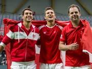 Der Davis-Cup-Modus dürfte schon bald revolutioniert werden (Bild: KEYSTONE/ALEXANDRA WEY)