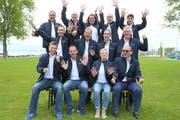 Das Organisationskomitee des Kantonalturnfestes. (Bild: PD)