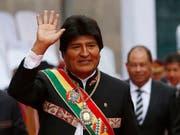 Der Präsident Boliviens, Evo Morales, kritisiert auf Twitter, dass die USA derzeit durch Südamerika reisen und überall für ihre Interessen lobbyieren. (Bild: KEYSTONE/AP/JUAN KARITA)