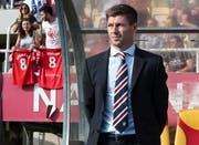 Die Glasgow Rangers sind die erste Trainerstation für Steven Gerrard. (Bild: EPA/GEORGI LICOVSKI)
