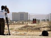 Geste von Israel: Nach jahrelanger Blockade dürfen Postsendungen an Palästina ausgeliefert werden, die in Jericho tonnenweise lagern. (Archivbild Jericho) (Bild: KEYSTONE/AP/SEBASTIAN SCHEINER)