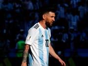 Lionel Messi lässt seine Zukunft im Nationalteam offen (Bild: KEYSTONE/AP/DAVID VINCENT)