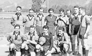 Im chicen Zweiteiler: Der FC Malters 1946.