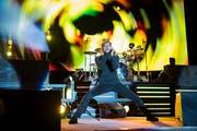 Das Konzert der «Toten Hosen» – hier mit Sänger Campino am Openair St. Gallen 2017 – lockt am 25. August rund 50'000 Zuschauer auf die Luzener Allmend. (Bild: Urs Bucher/Tagblatt)