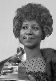 1972 erhielt Aretha Franklin den Grammy für «Best Rhythm and Blues performance». (Bild: Keystone)
