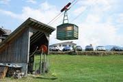 Die Hammenbahn wurde 1911 erbaut und ist eine der ältesten und steilsten Bahnen in Nidwalden.