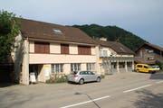 Die Poststelle Brunnadern wird bald geschlossen. (Bild: Martin Knoepfel)