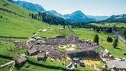 Das Bergschwingfest auf der Schwägalp ist ein Publikumsmagnet. (Bild: Urs Bucher)